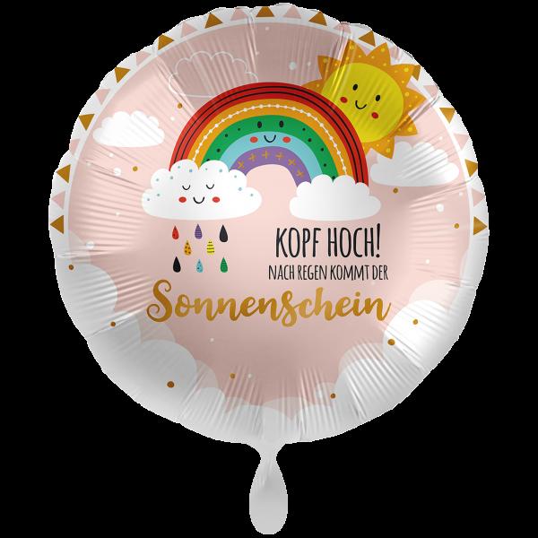 1 Ballon XXL - Kopf Hoch Sonnenschein