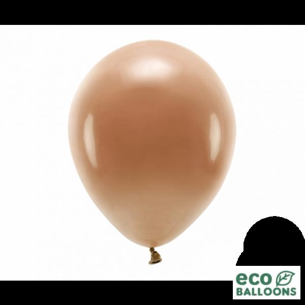 100 ECO-Luftballons - Ø 30cm - Chocolate Brown