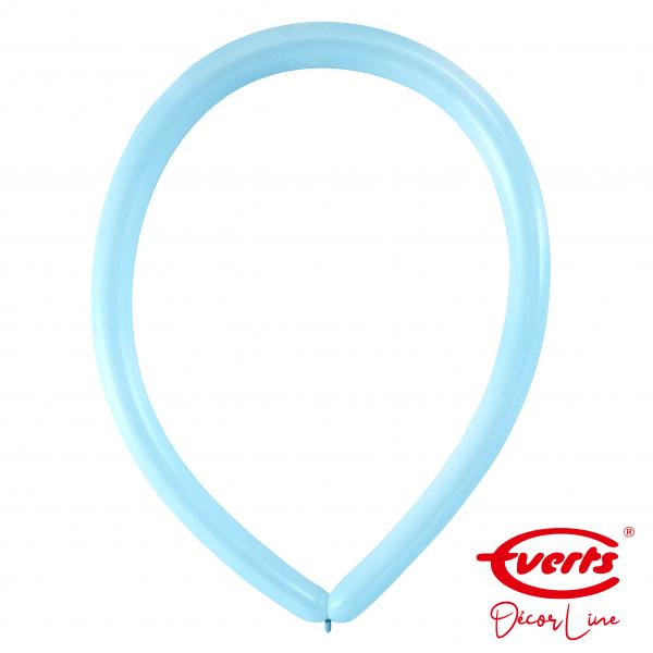 100 Modellierballons - DECOR - E160 - Pastel Blue