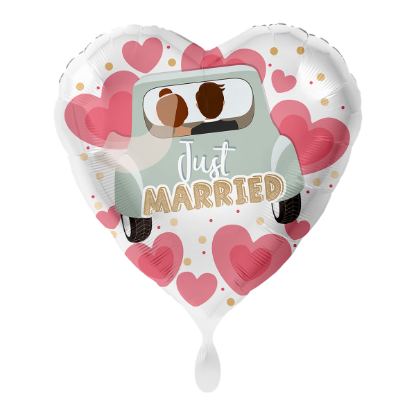 1 Ballon - Just Married Auto