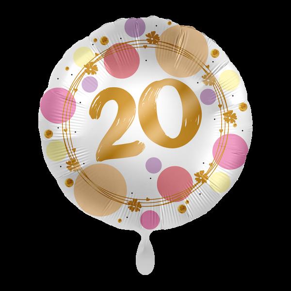 1 Ballon - Shiny Dots 20