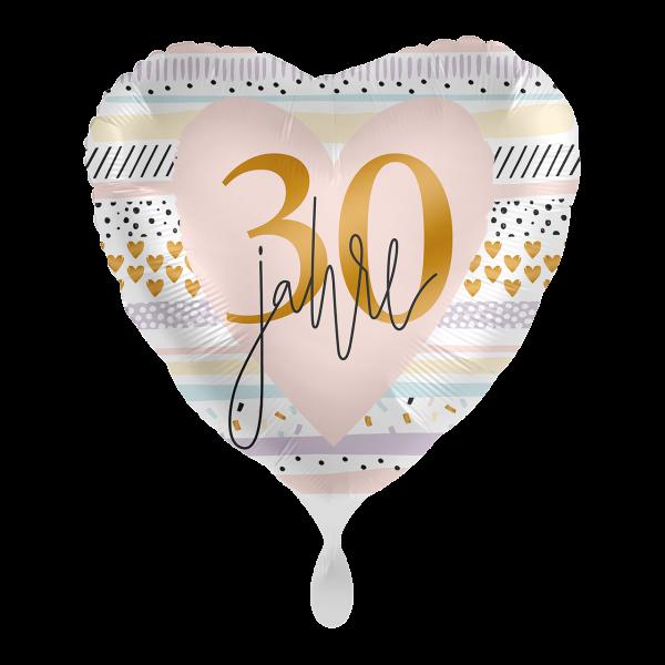 1 Ballon - Creamy Blush 30
