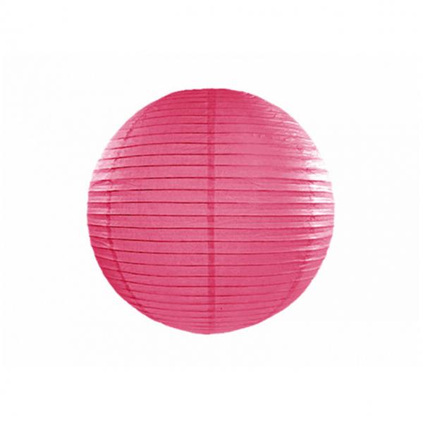 1 Lampion - Ø 25cm - Pink
