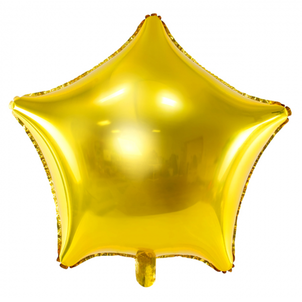 1 Ballon XXL - Stern - Gold