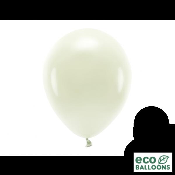 10 ECO-Luftballons - Ø 26cm - Cream