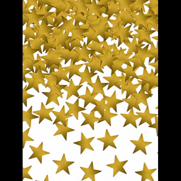 30g Metallickonfetti - Stars Gold