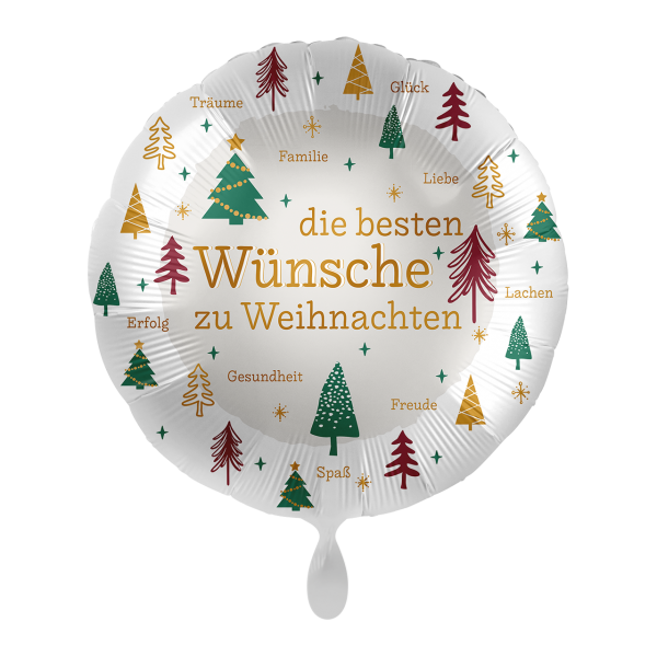 1 Ballon - Christmas Wishes
