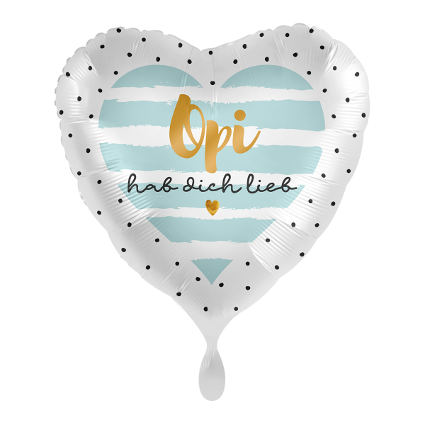 1 Ballon - Opi hab Dich lieb