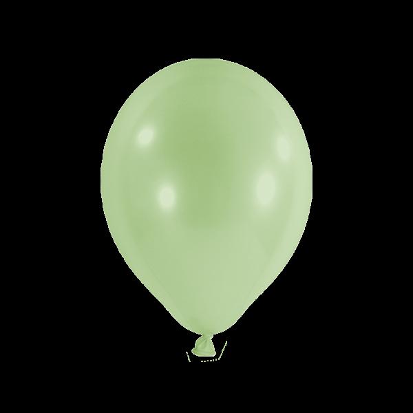 10 Luftballons - Ø 27cm - Pastell - Pistazie