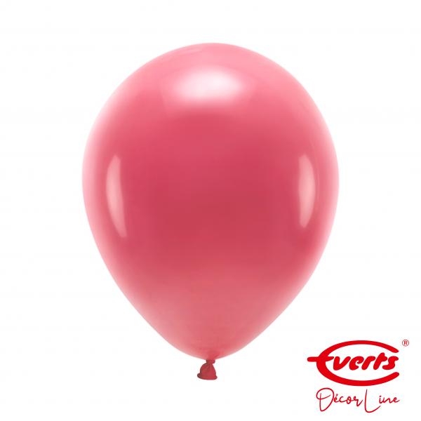 50 Luftballons - DECOR - Ø 28cm - Crystal - Berry