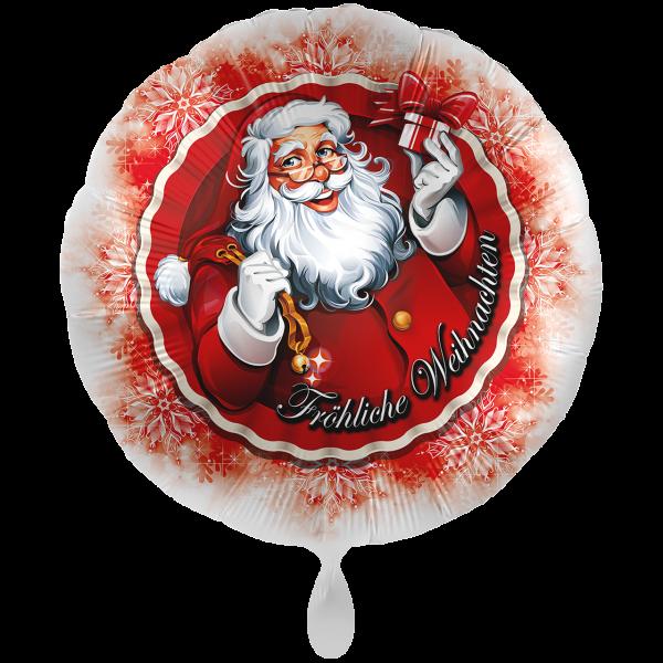 1 Ballon XXL - Weihnachtsmann