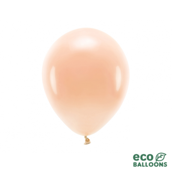 10 ECO-Luftballons - Ø 26cm - Peach