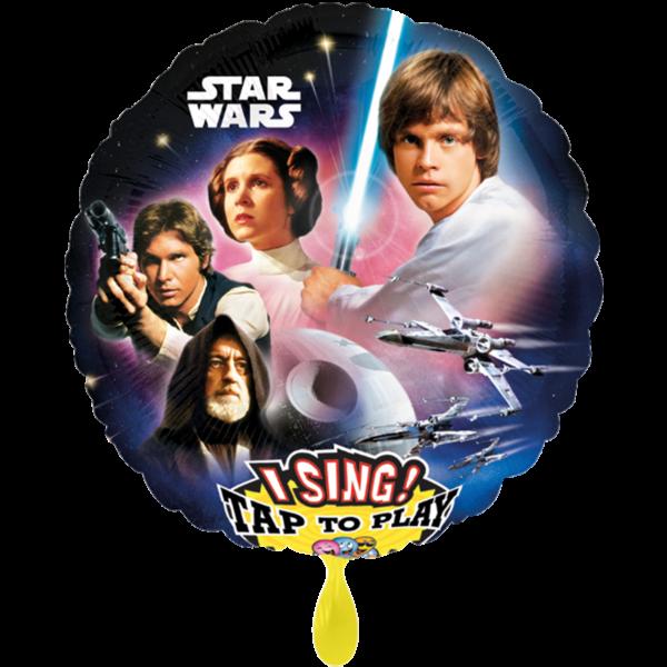 1 Musikballon - Star Wars