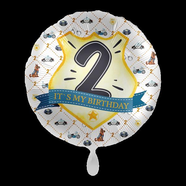 1 Ballon - Police Academy - Zwei