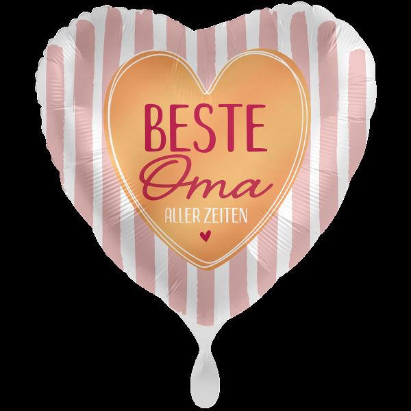 1 Ballon XXL - Beste Oma aller Zeiten