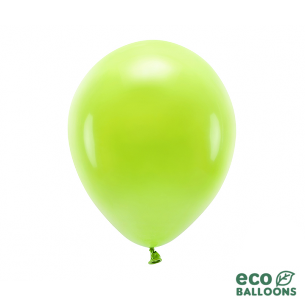 100 ECO-Luftballons - Ø 30cm - Green Apple