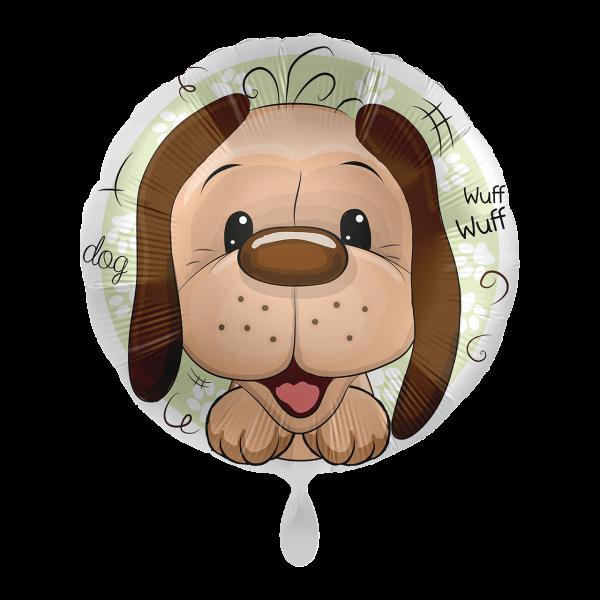 1 Ballon - Playful Dog