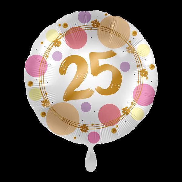 1 Ballon - Shiny Dots 25