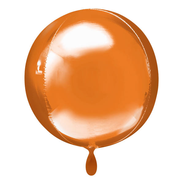 1 Ballon - Orbz - Orange