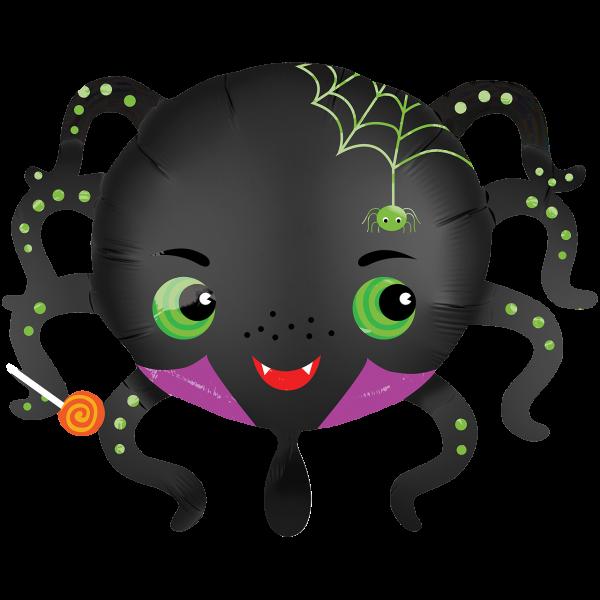 1 Ballon XXL - Satin Infused Spider