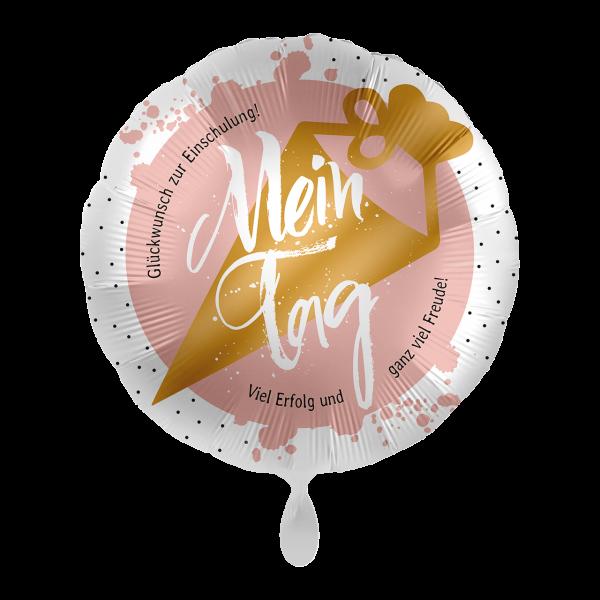 1 Ballon - Mein Tag Schultüte Rosa