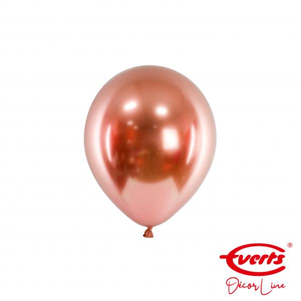 100 Miniballons - DECOR - Ø 13cm - Satin Luxe - Rose Copper