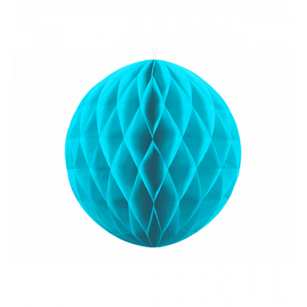 1 Wabenball XL - Ø 20cm - Türkis