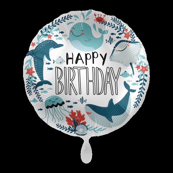 1 Ballon - Under The Sea Birthday