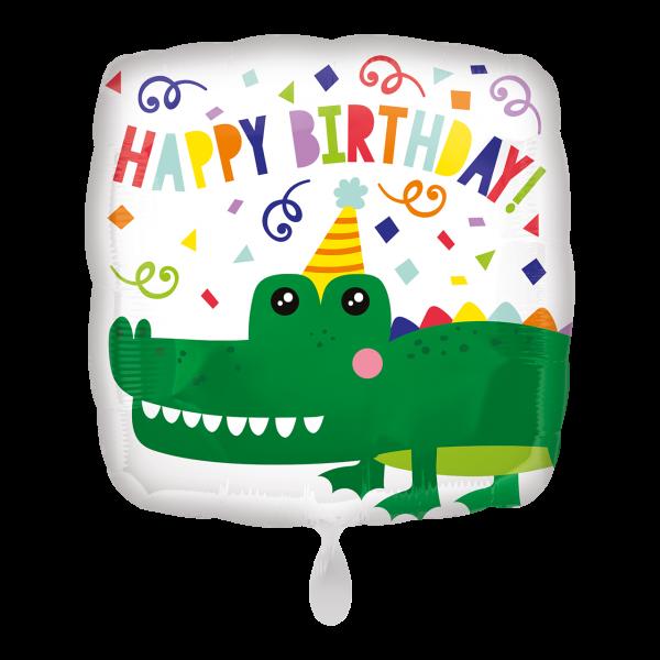 1 Ballon - Gator Happy Birthday