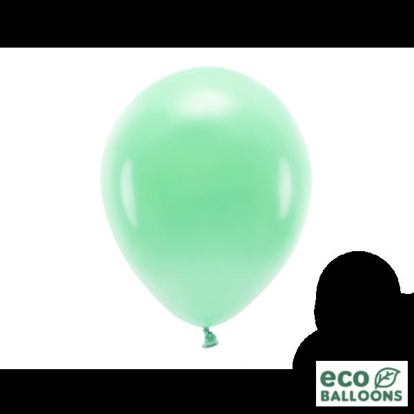 10 ECO-Luftballons - Ø 26cm - Mint