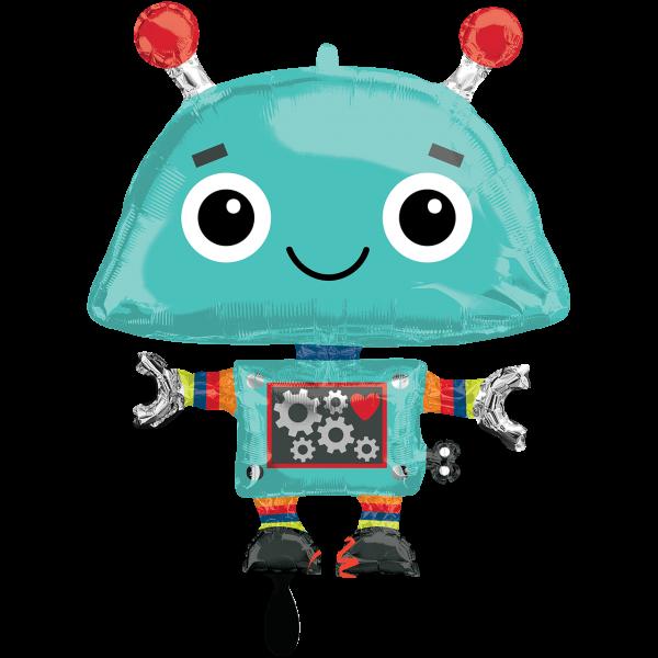 1 Ballon XXL - Robot