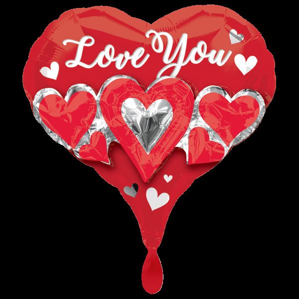 1 Ballon - Three Times the Love