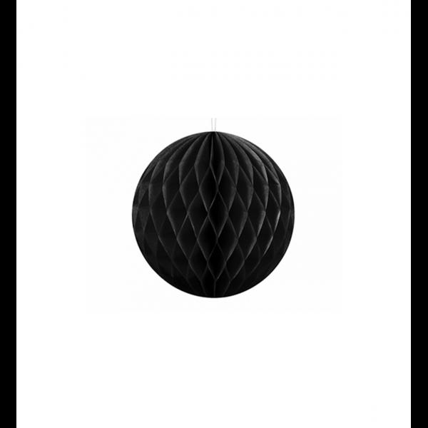 1 Wabenball - Ø 10cm - Schwarz