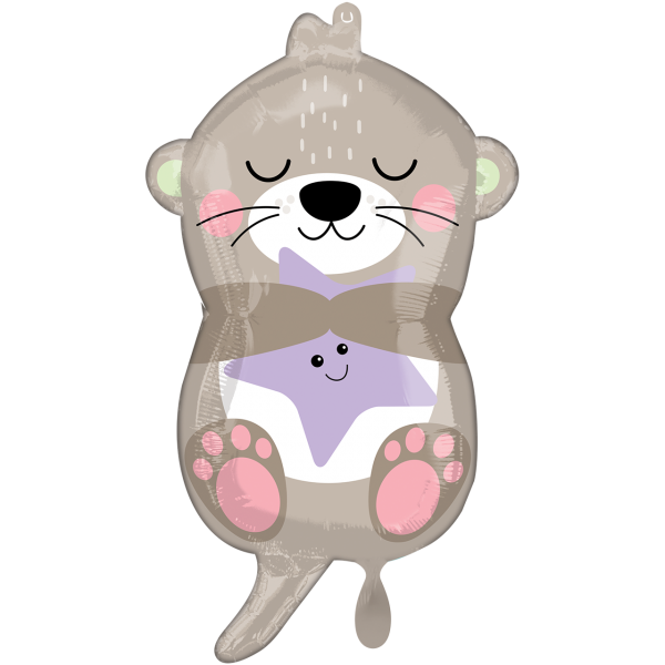 1 Ballon - Otterly Adorable