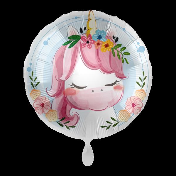 1 Ballon - Cute Unicorn