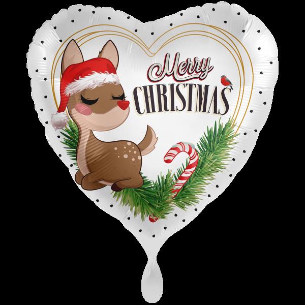 1 Ballon XXL - Sweet Reindeer