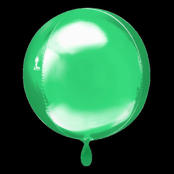 1 Ballon - Orbz - Grün