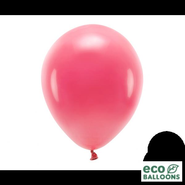 10 ECO-Luftballons - Ø 30cm - Light Red