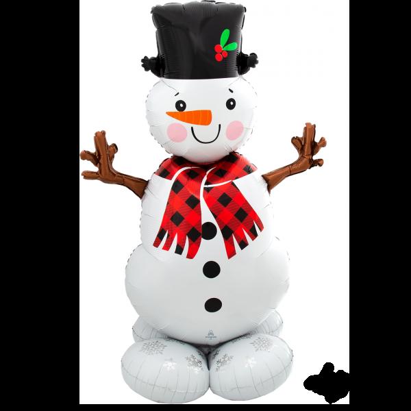 1 AirLoonz - Snowman Greeter