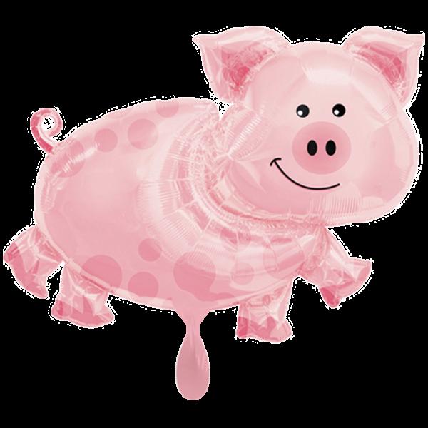 1 Ballon XXL - Pig